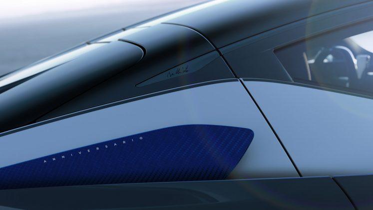 Automobili Pininfarina Battista Anniversario design