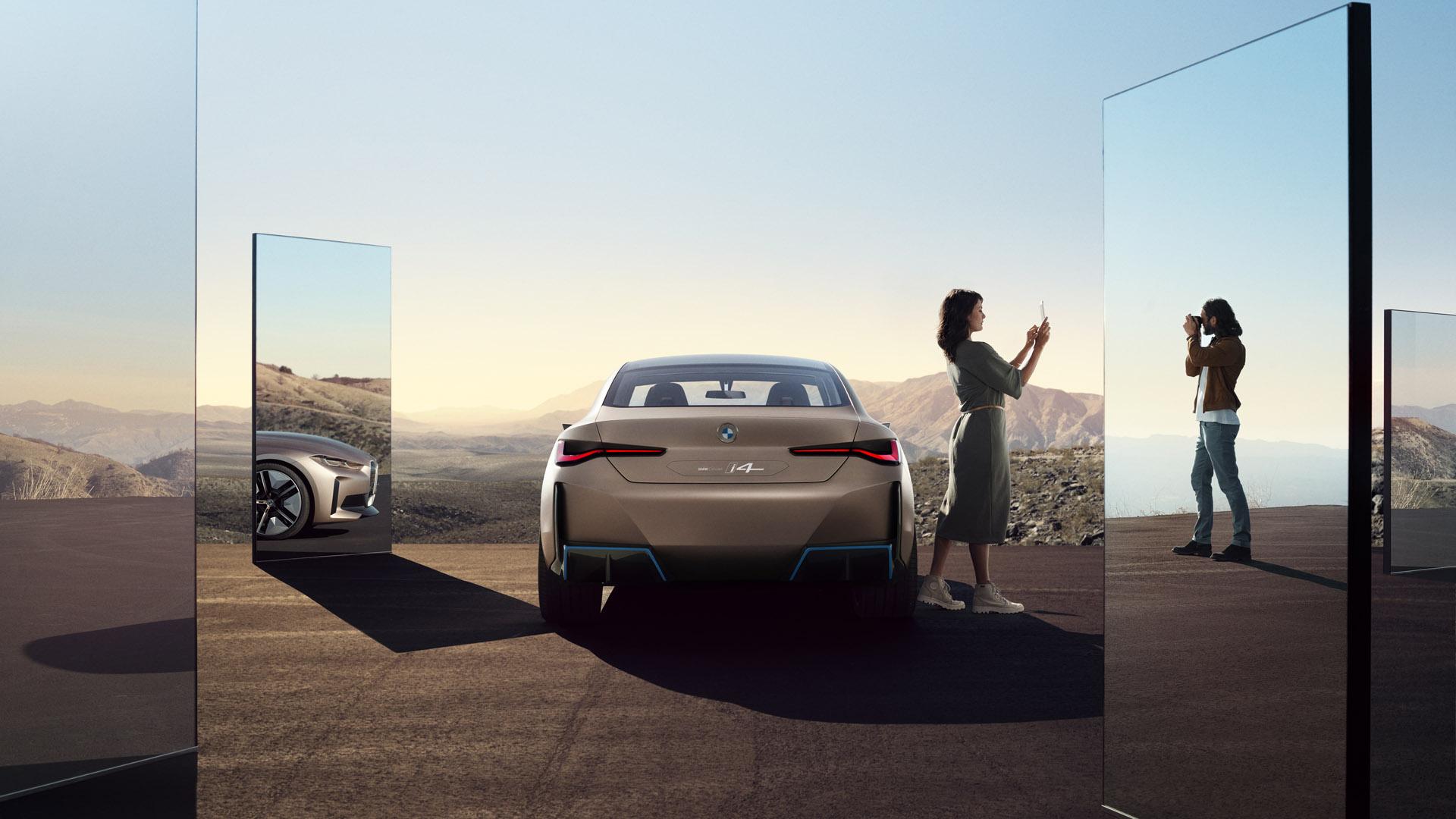 BMW Concept i4 back