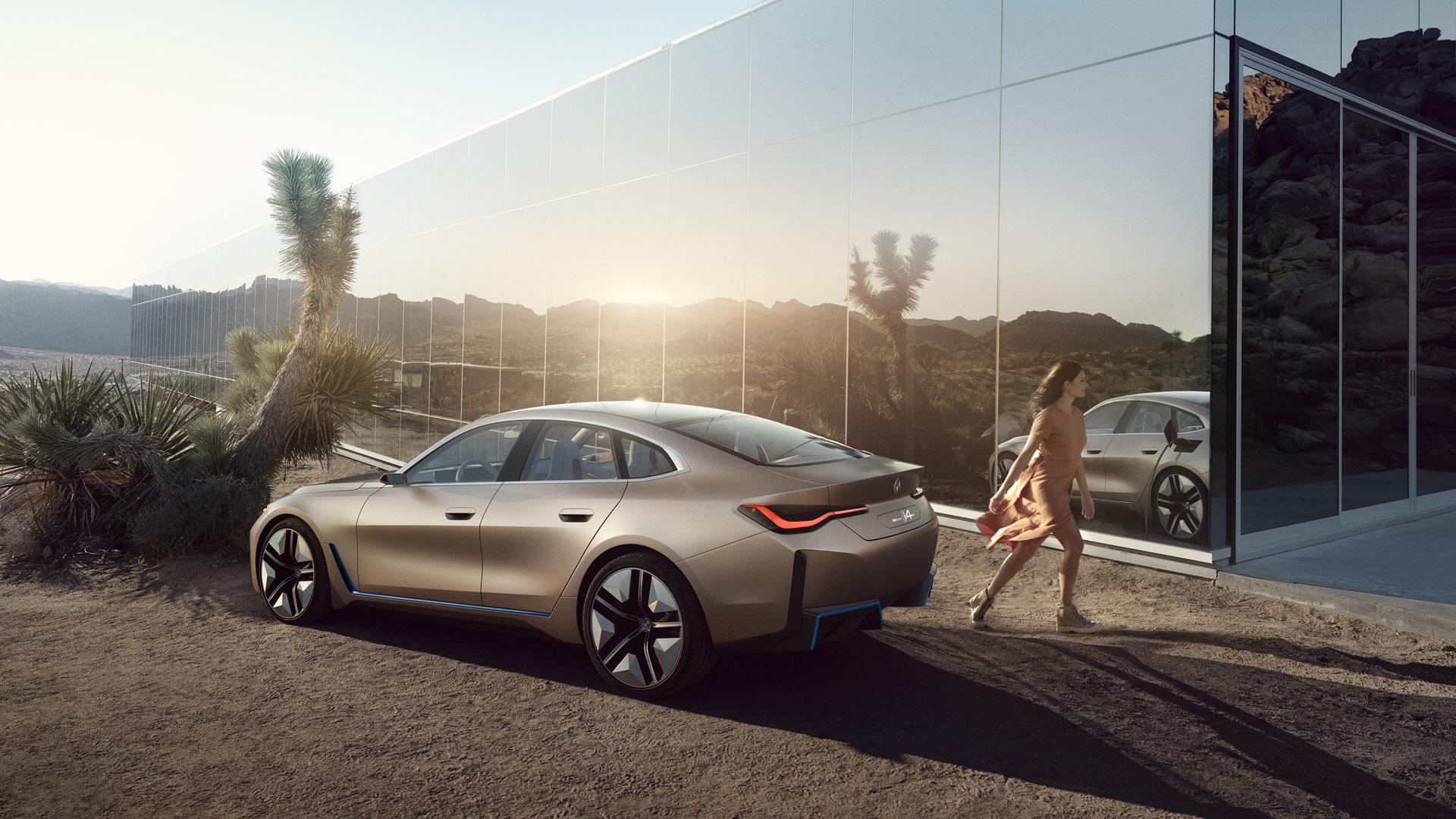 BMW Concept i4 design