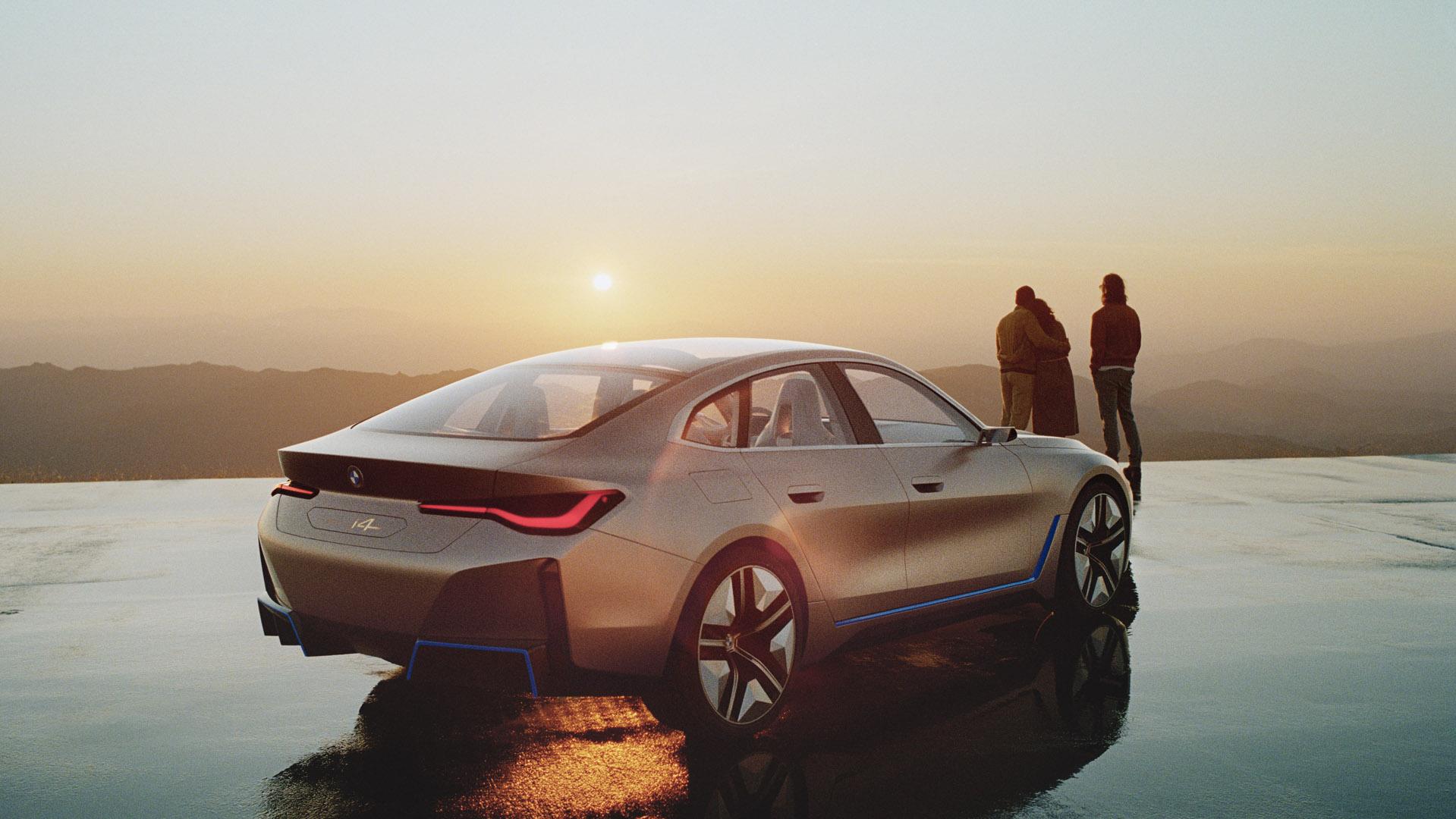 BMW Concept i4 electric