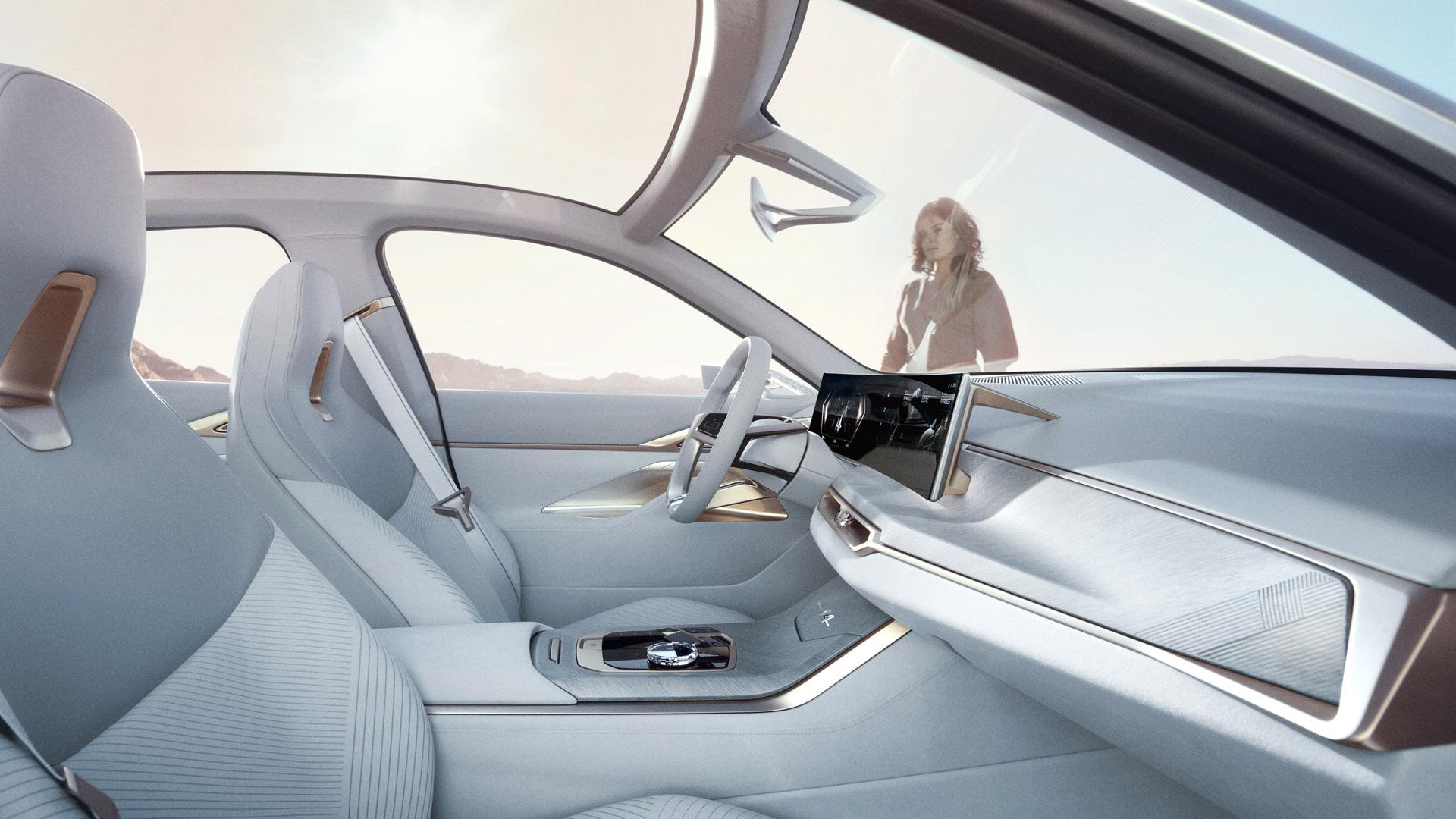 BMW Concept i4 inside