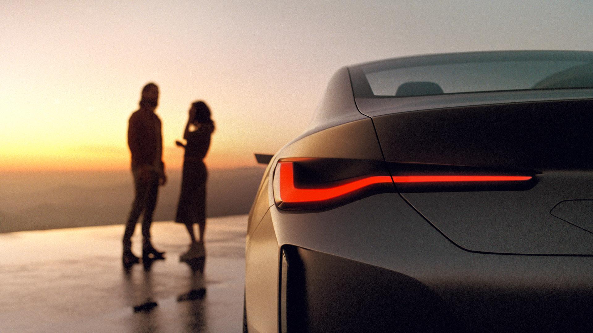 BMW Concept i4 lights