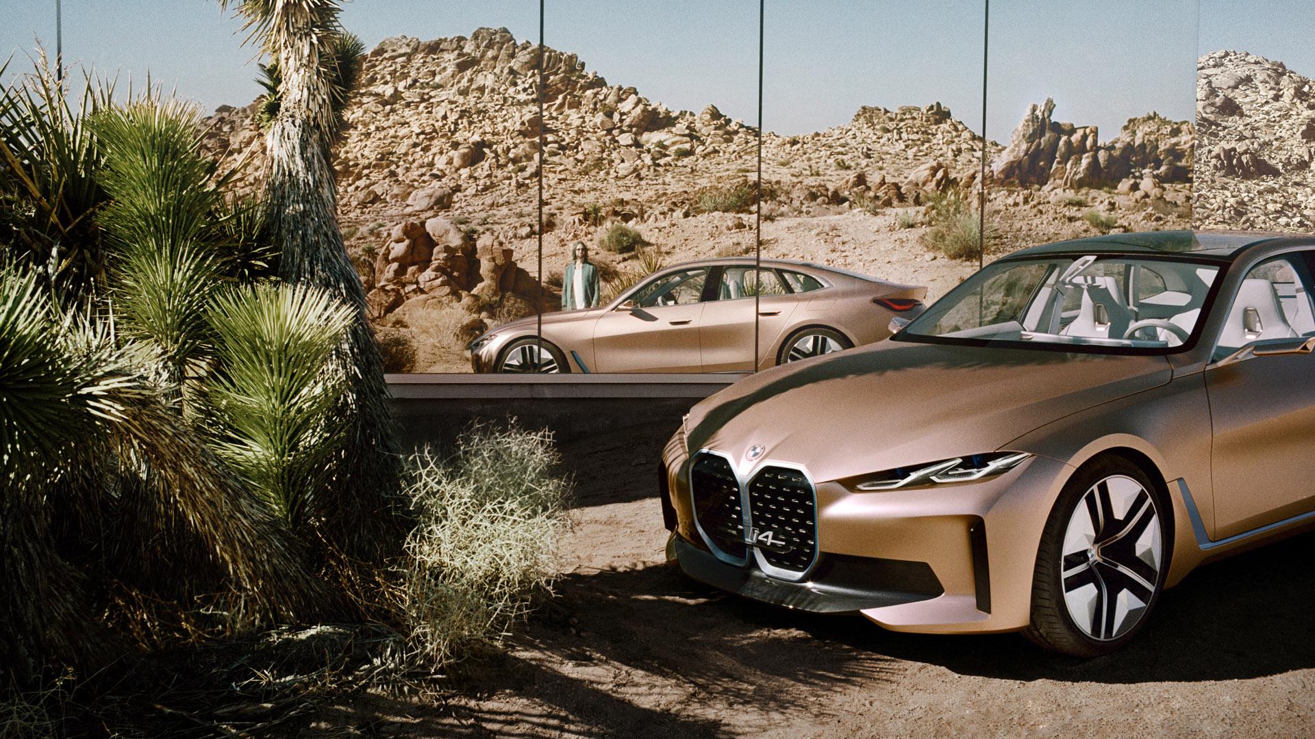 BMW Concept i4 side