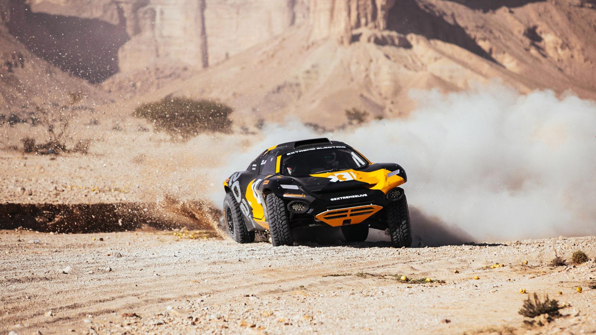 Extreme E racing