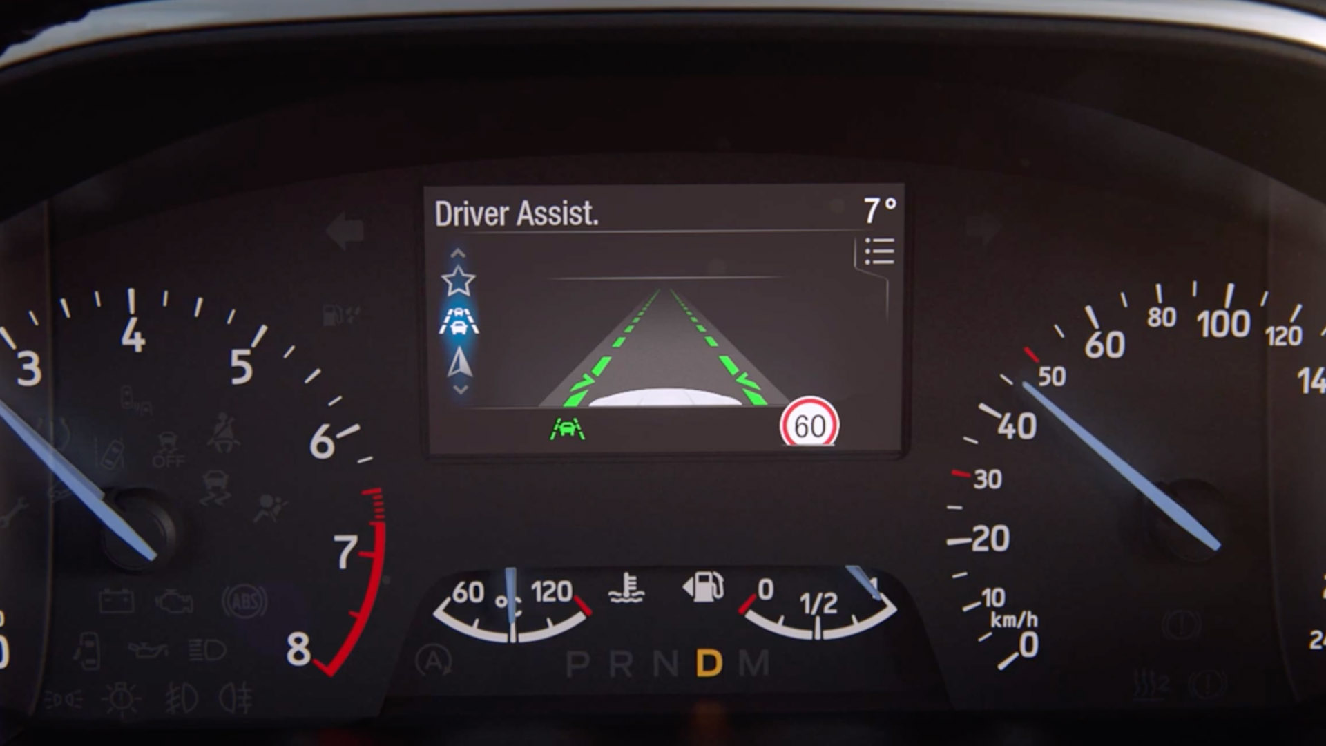 Ford Road Edge detection dashboard