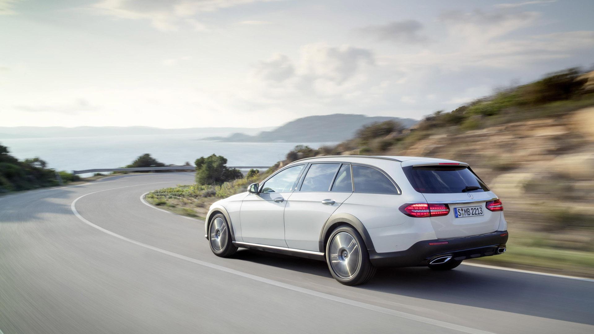 Mercedes-Benz E-Class Estate back