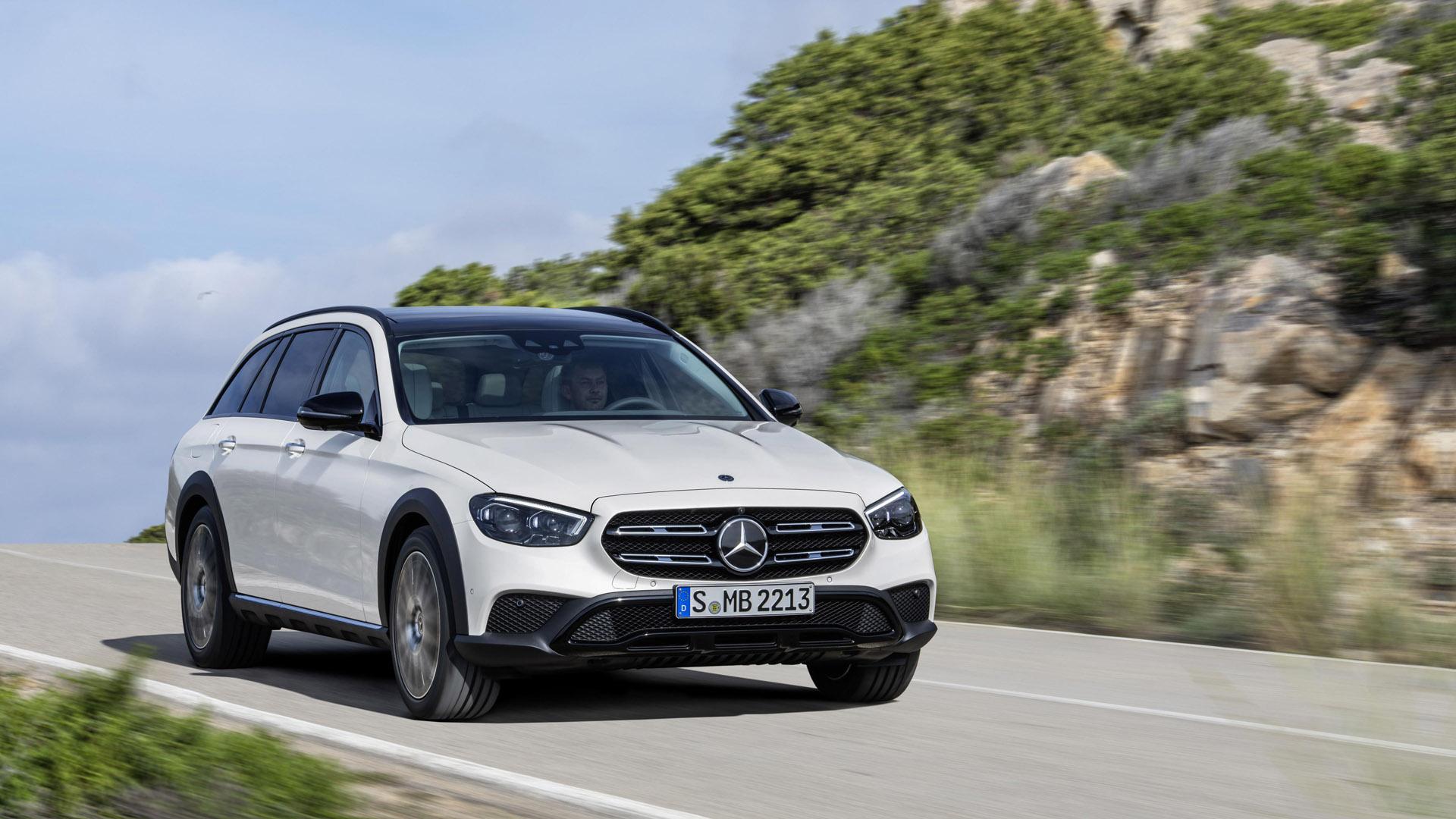Mercedes-Benz E-Class Estate front