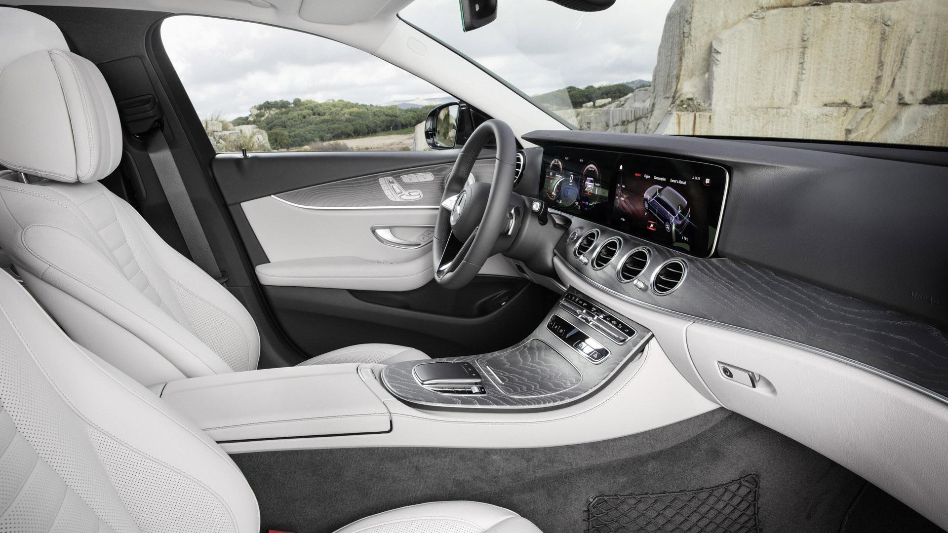 Mercedes-Benz E-Class Estate interior