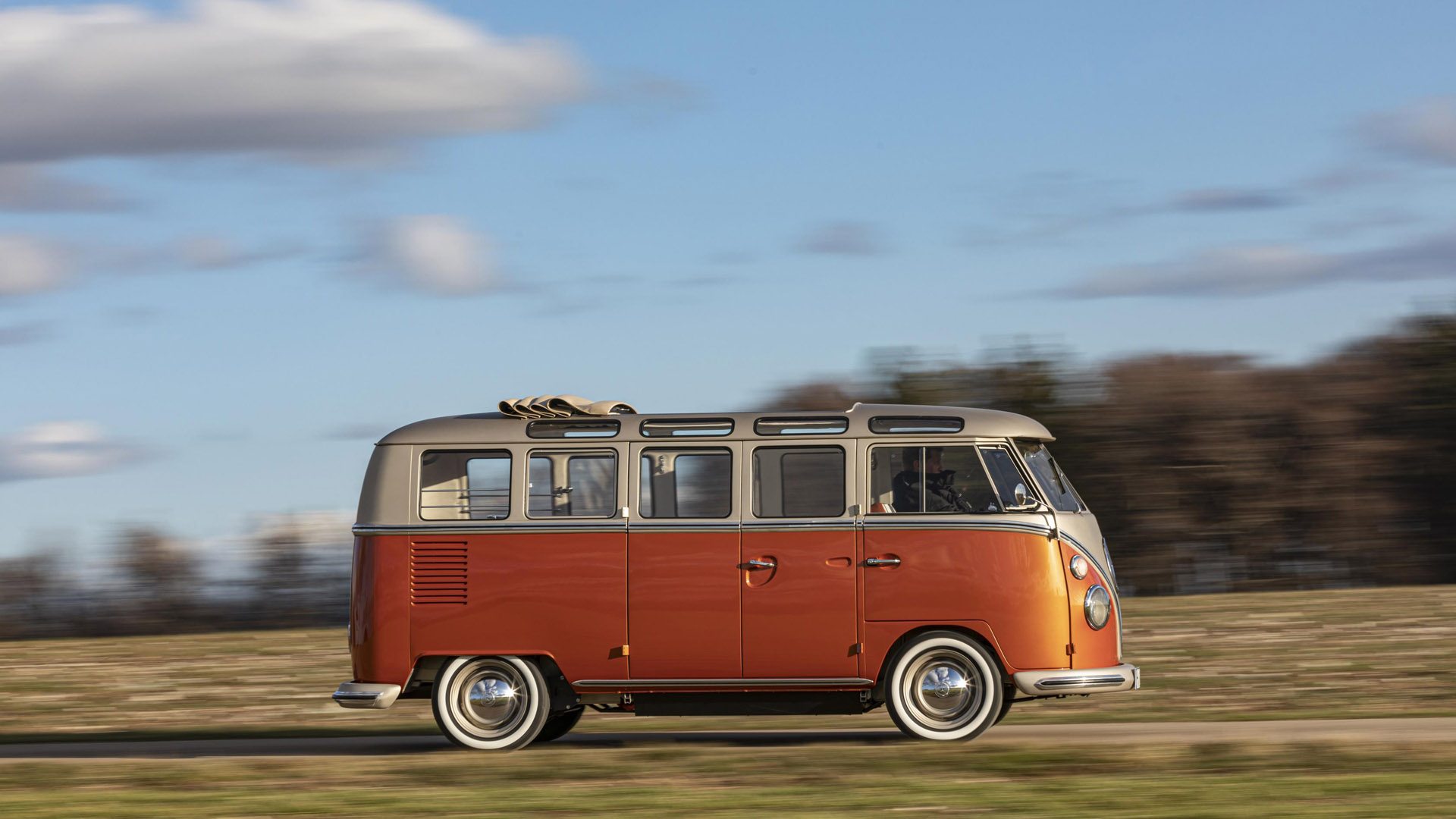 Volkswagen e-Bulli drive
