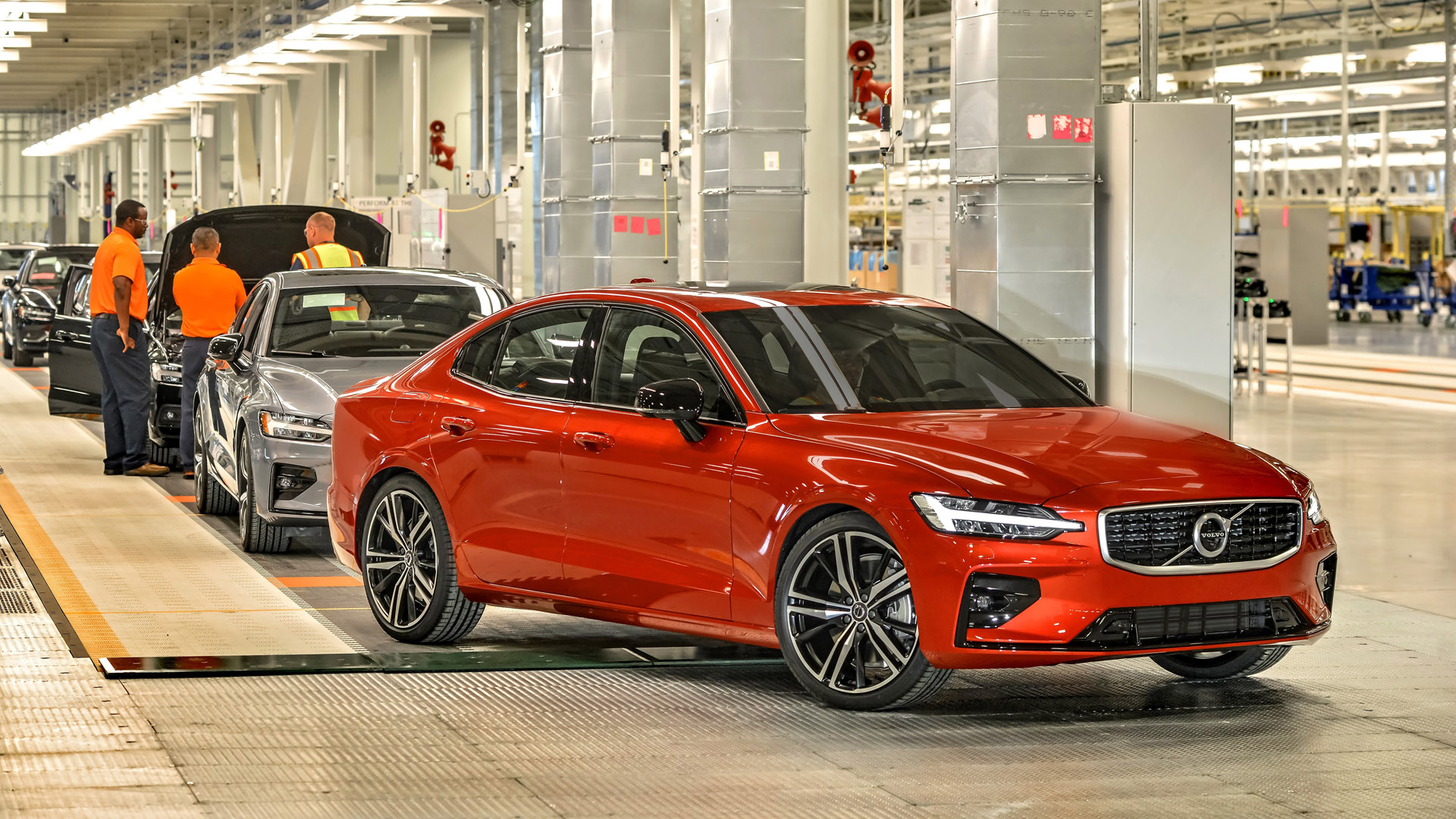 Volvo manufacturing in USA