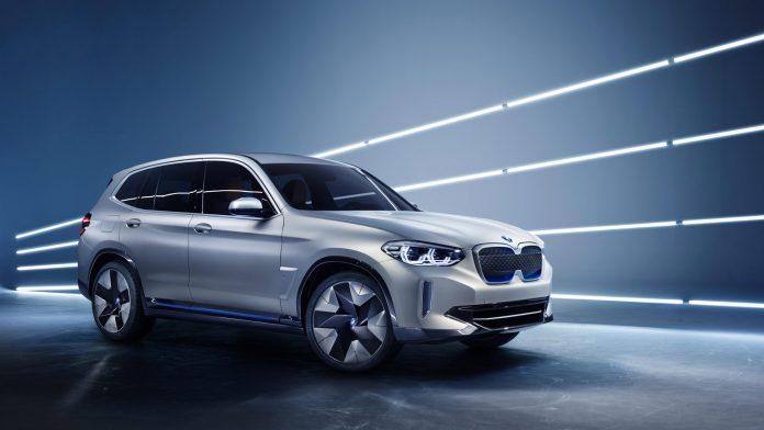 BMW Concept iX3 future