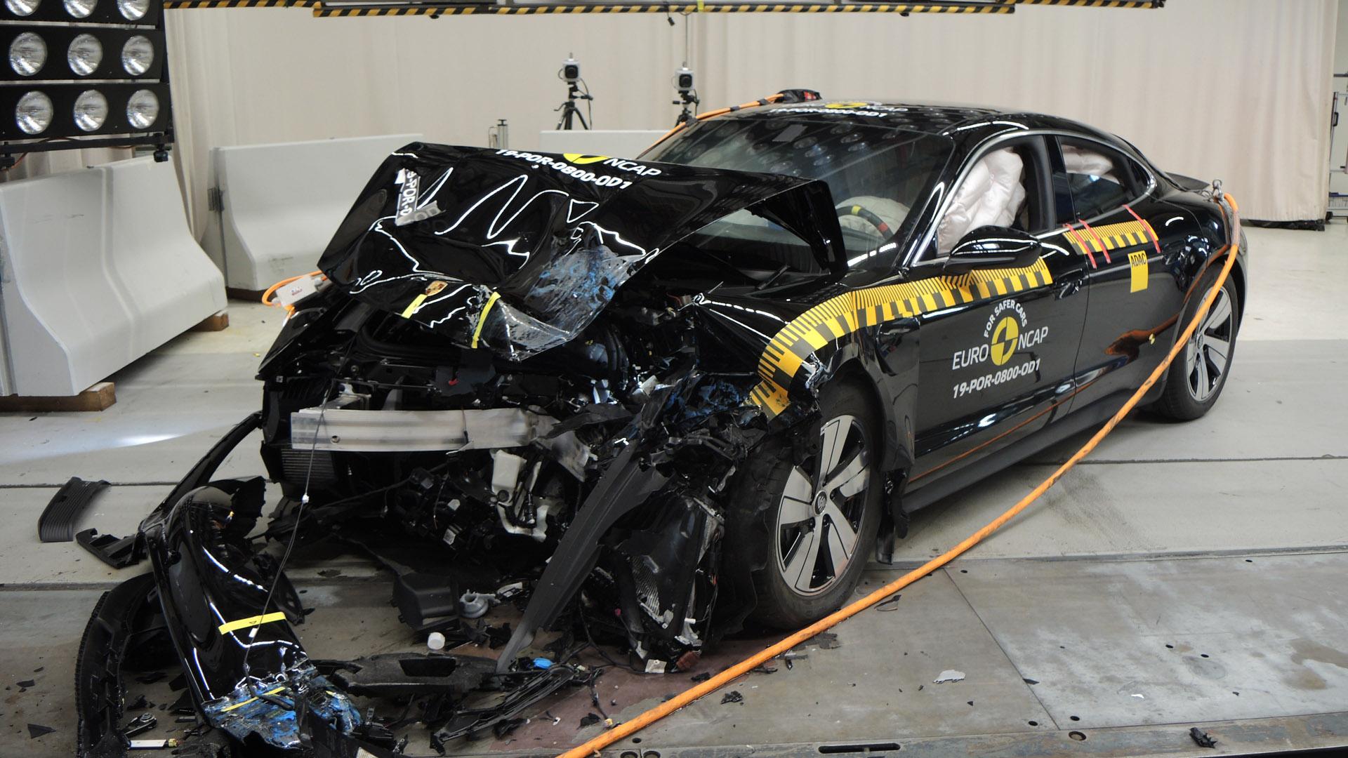Euro NCAP Porsche Taycan