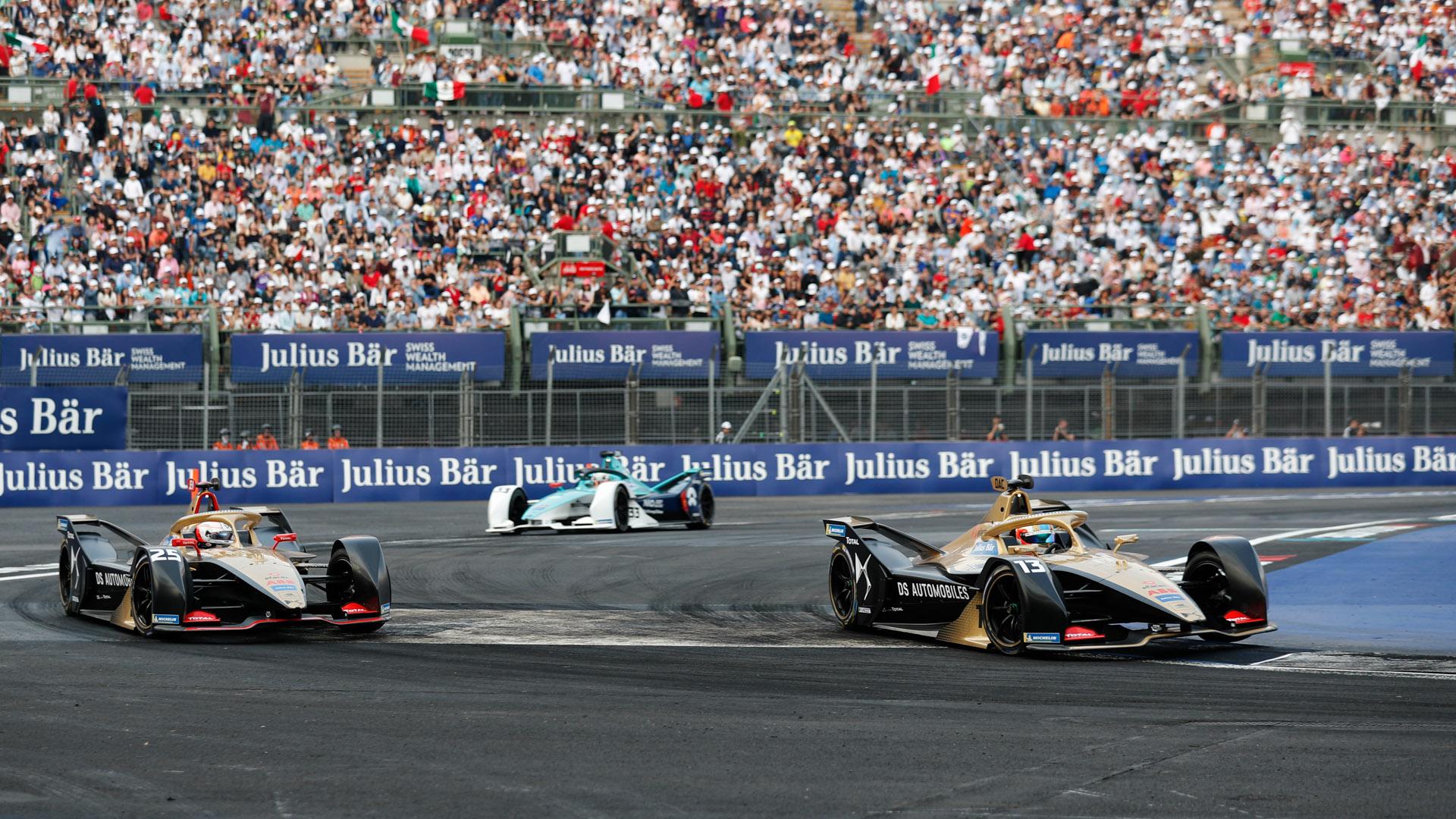 Formula E crowds