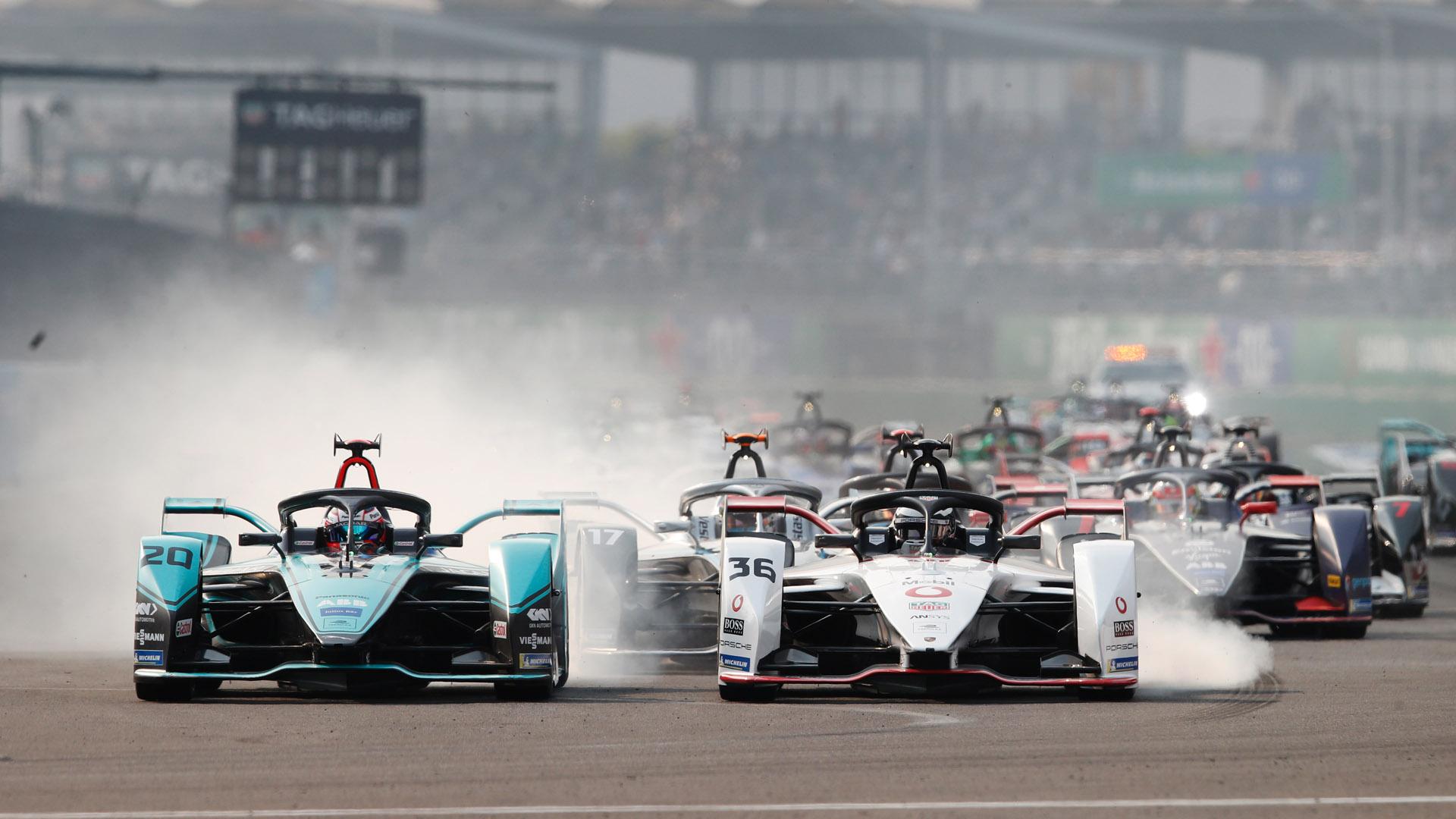 Formula E race