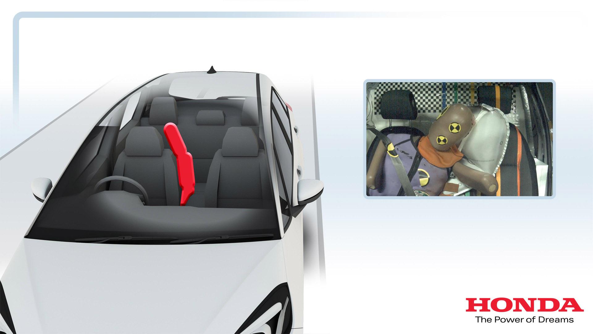 Honda Jazz safety system