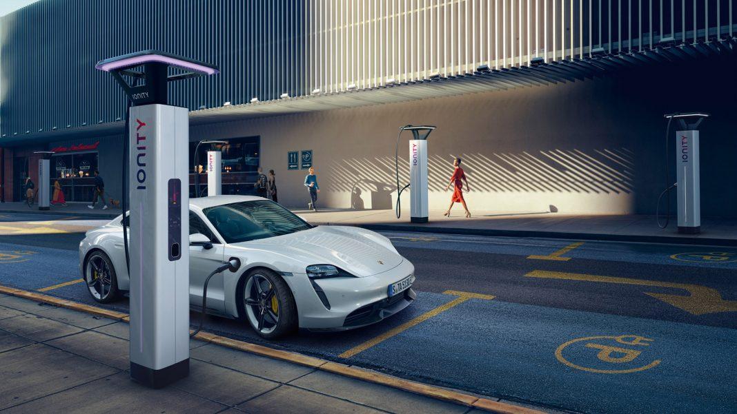 Ionity Porsche Taycan