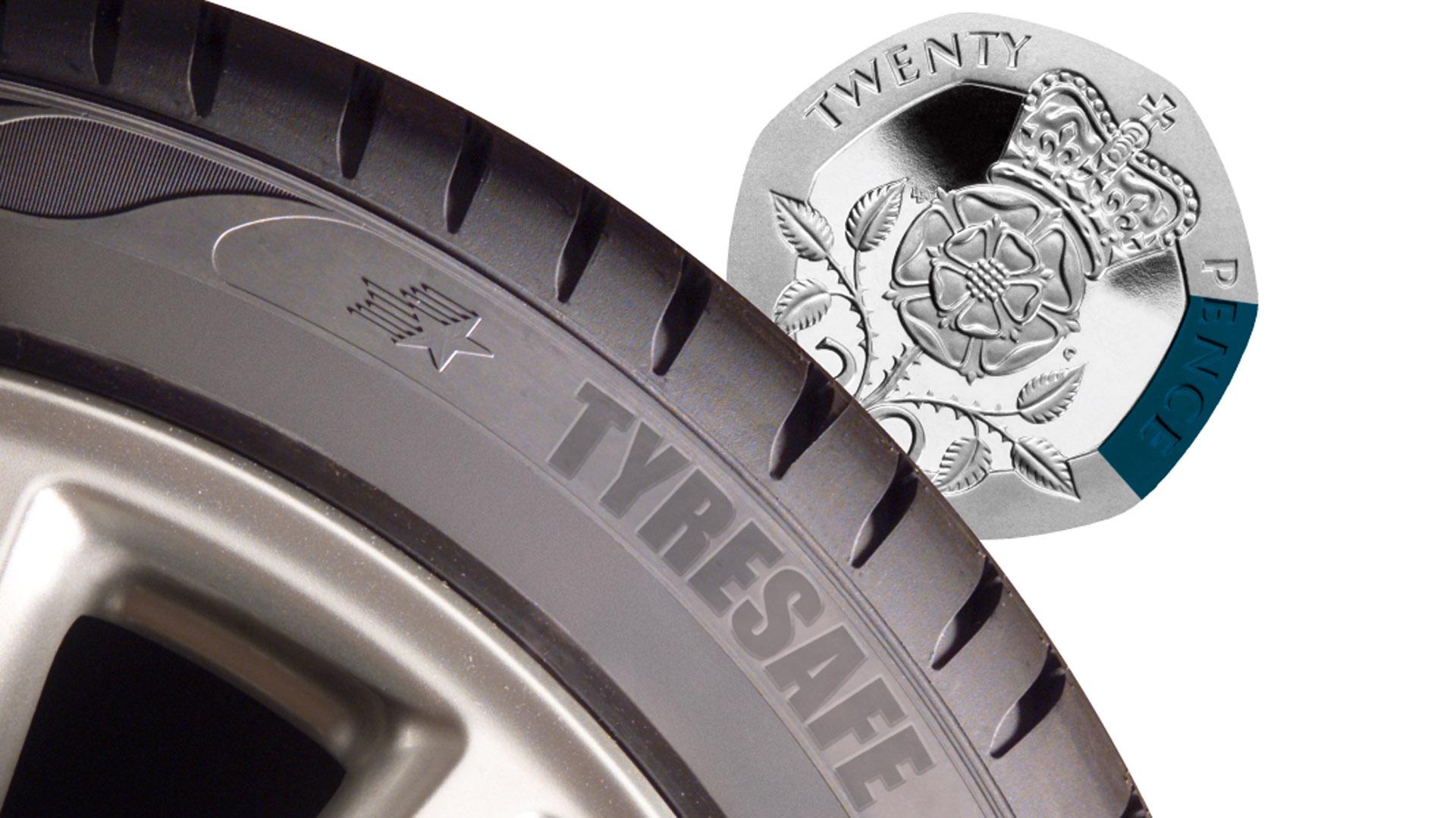 TyreSafe legal tread depth