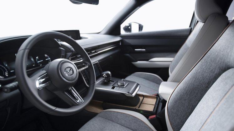 Mazda MX-30 interior design