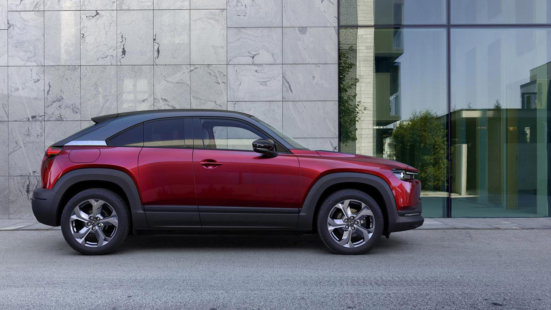Mazda MX-30 red