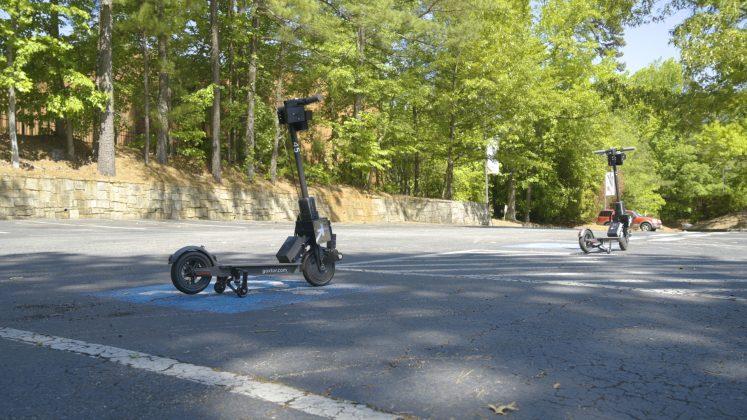 Peachtree Corners scooter tech