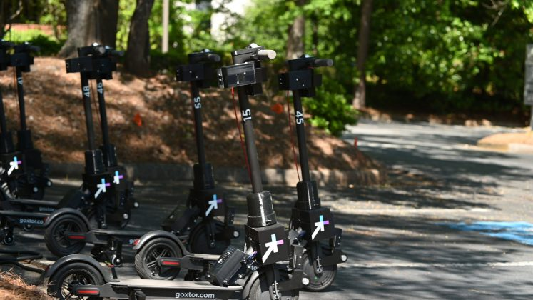Peachtree Corners scooters