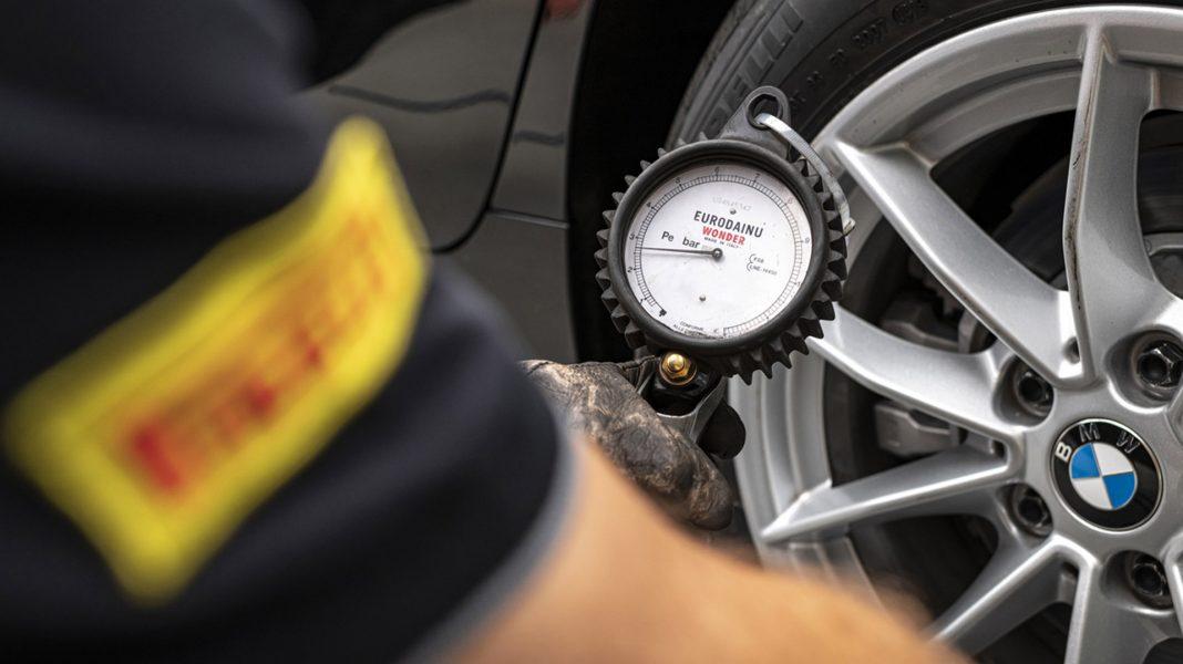 Pirelli tests