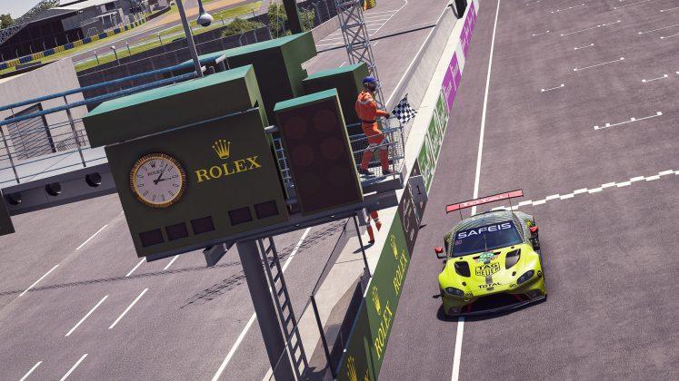 Aston Martin Racing Le Mans pit