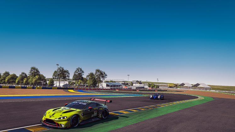 Aston Martin Racing Le Mans race