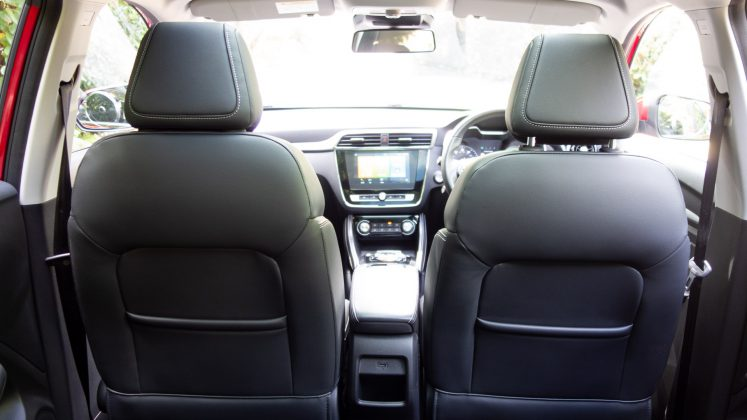 MG ZS EV seat