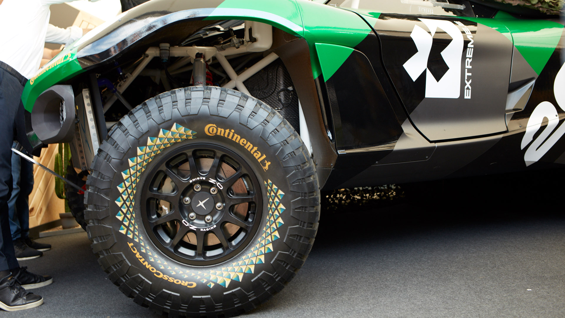Extreme E Continental tyres