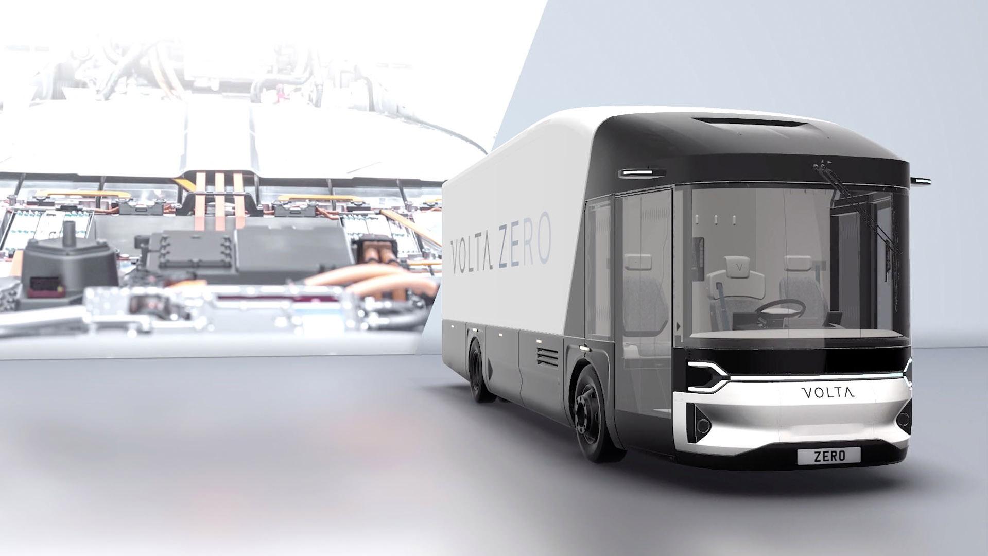 Volta Trucks design