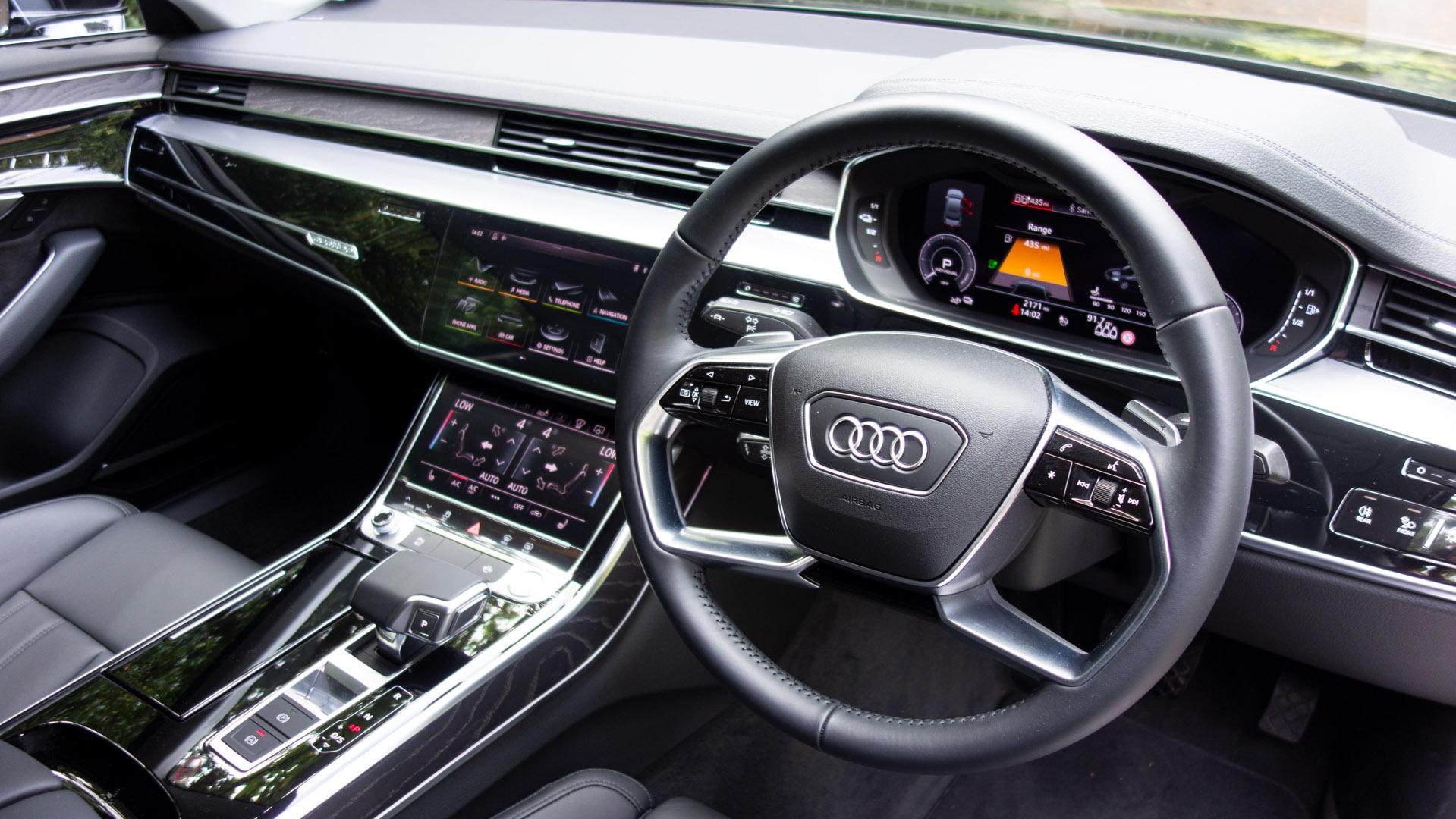 Audi A8 cabin
