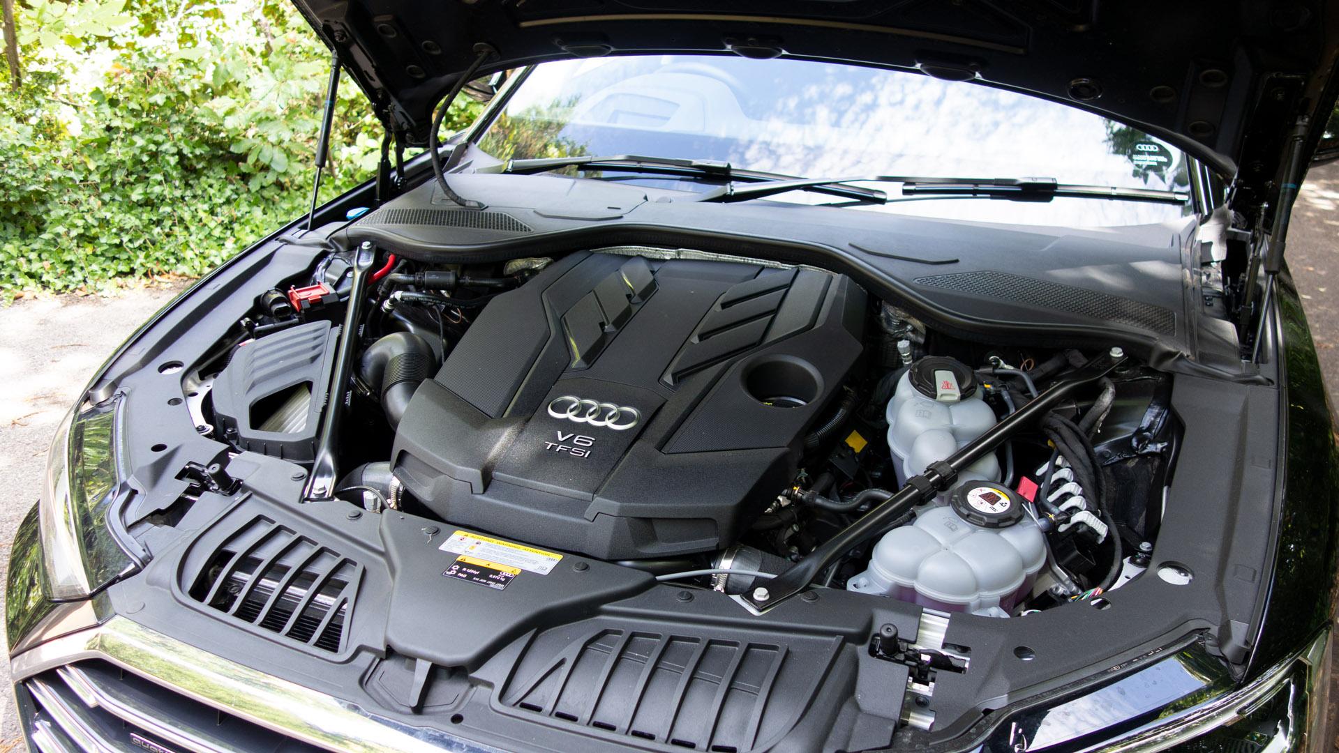Audi A8 engine