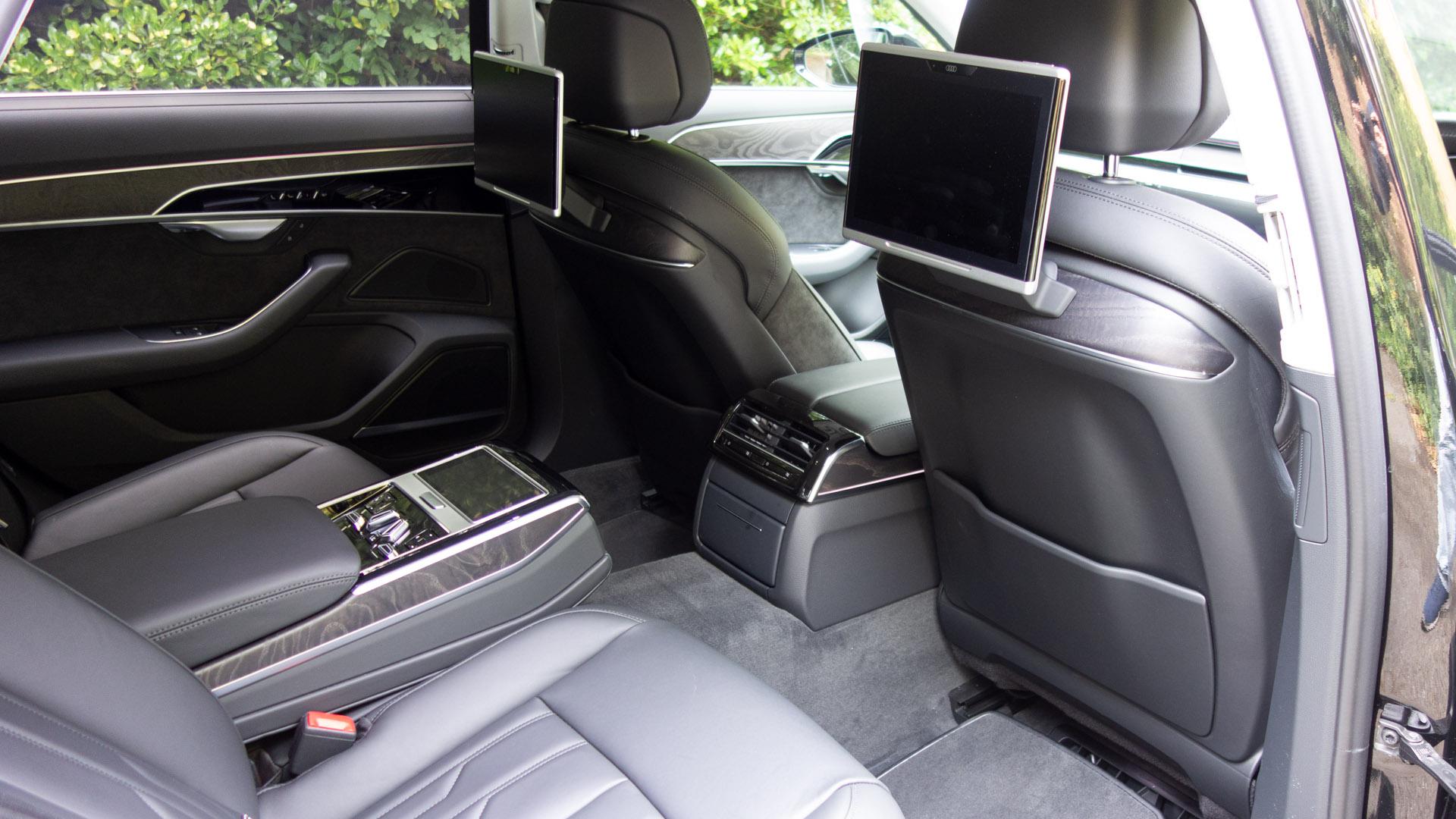Audi A8 rear comfort