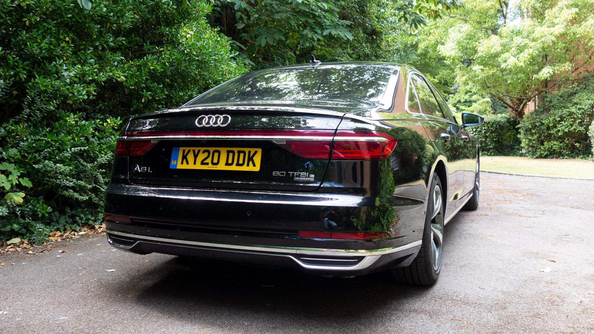 Audi A8 rear design