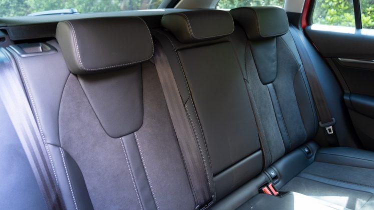 Skoda Octavia iV Estate rear seats