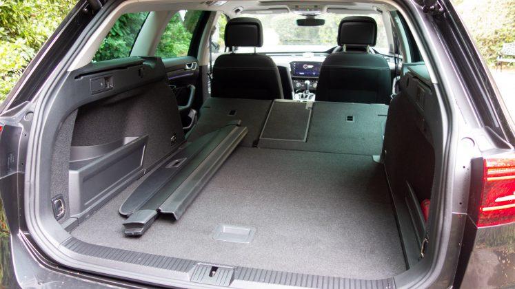 Volkswagen Passat Estate GTE boot capacity