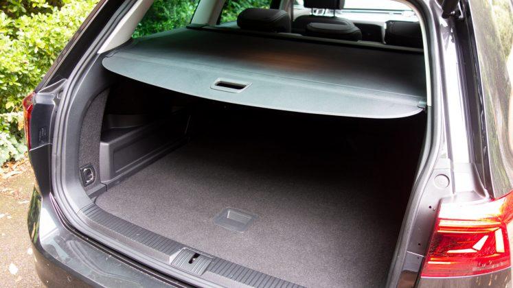 Volkswagen Passat Estate GTE boot lid