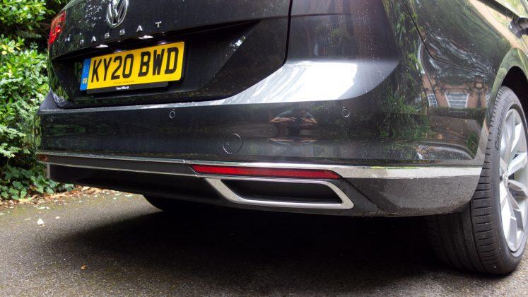 Volkswagen Passat Estate GTE exhaust