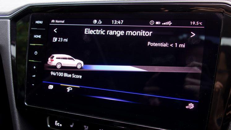 Volkswagen Passat Estate GTE range