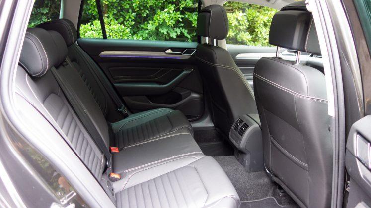 Volkswagen Passat Estate GTE rear seat