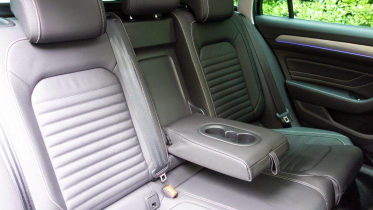 Volkswagen Passat Estate GTE rear seat comfort
