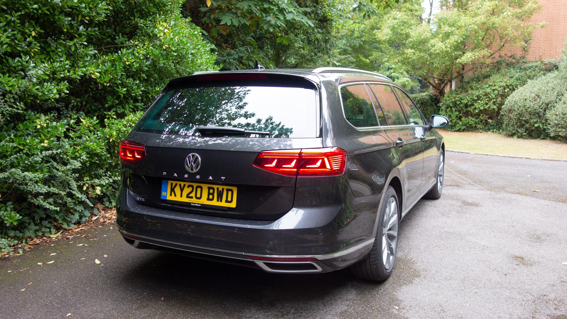 Volkswagen Passat Estate GTE rear