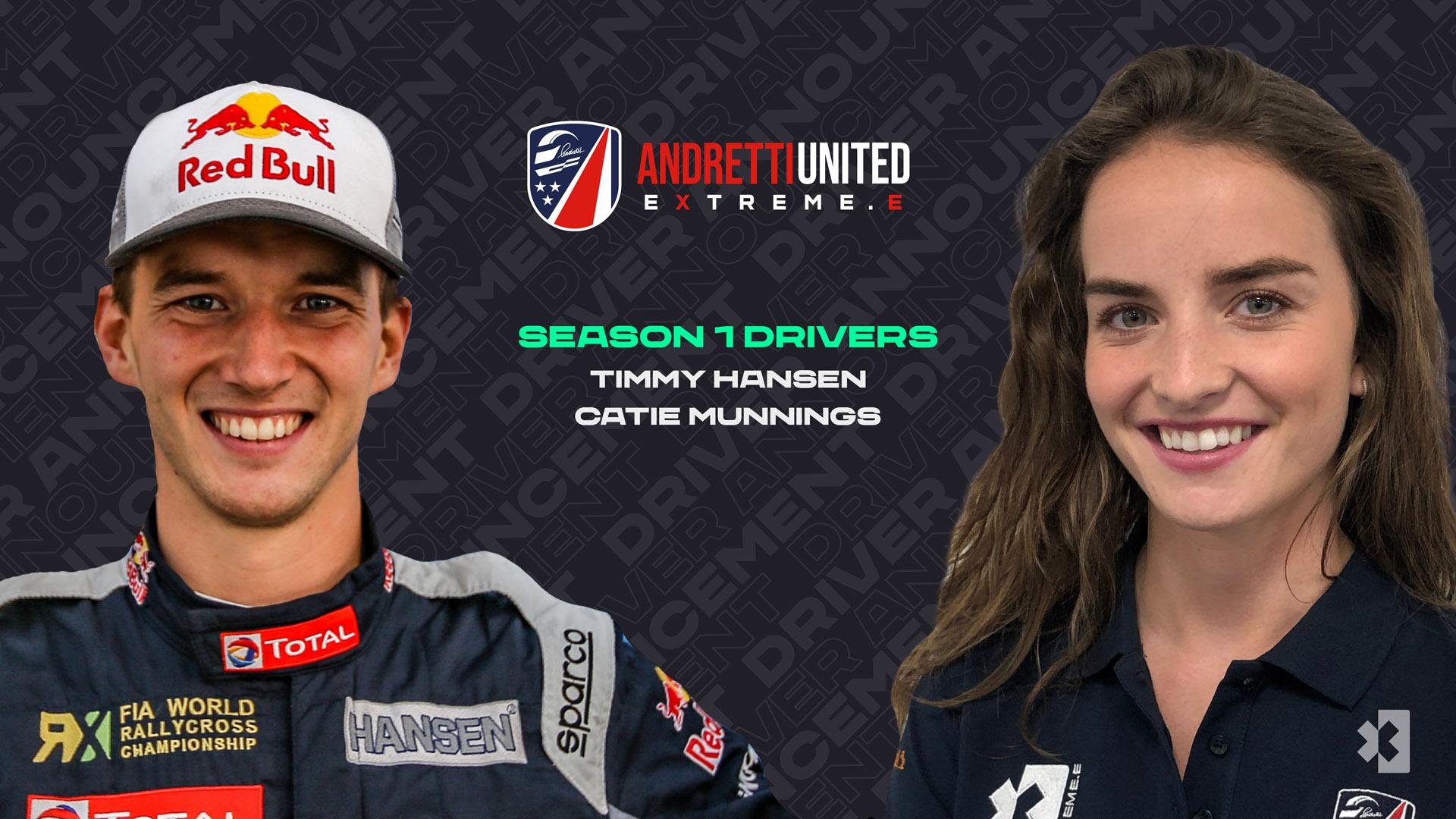 Andretti United drivers