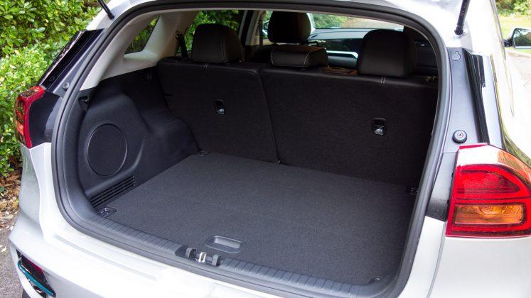 Kia e-Niro boot storage space