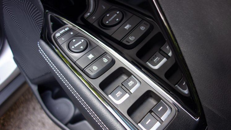 Kia e-Niro buttons