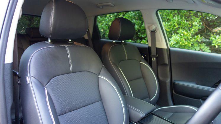 Kia e-Niro front seats