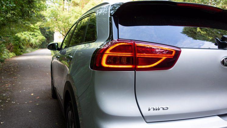 Kia e-Niro light design