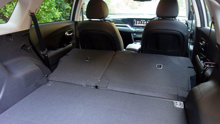 Kia e-Niro rear space