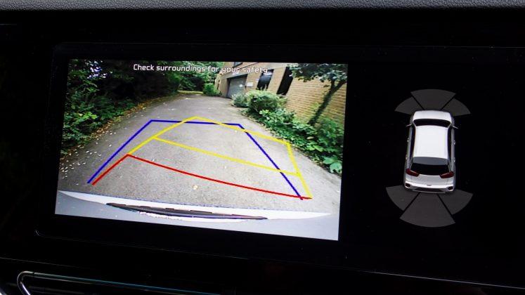 Kia e-Niro rearview camera